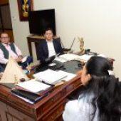 Marcelino Maridueña y UNEMI afianzan relaciones para suscribir convenio de cooperación